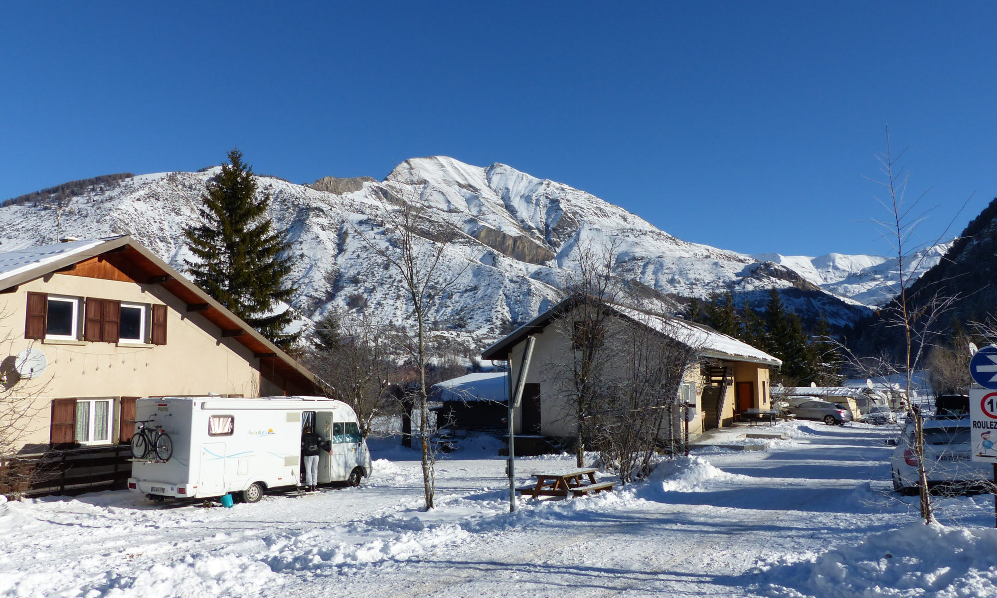 Camping les Taillas hiver