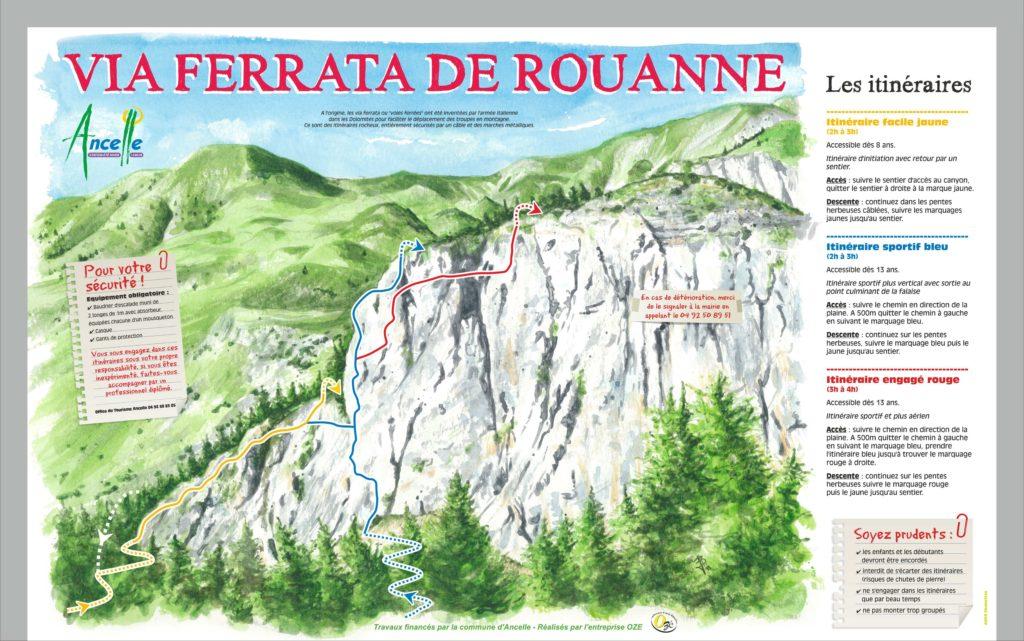 Via Ferrata de Roanne à Ancelle